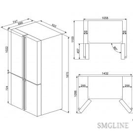 SMEG FQ960P