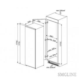 SMEG S7323LFLD2P