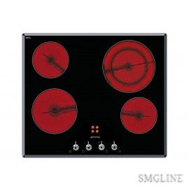 Купить электрическую варочную панель SMEG SE661X1