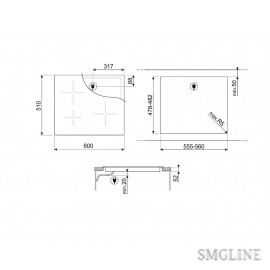 SMEG SI2641DP